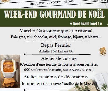 Week-end gourmand de Noel 2019